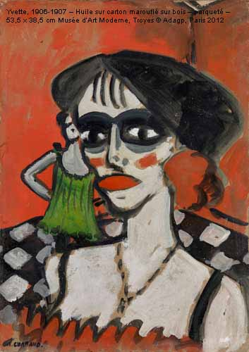 Programme culturel s te exposition chabaud fauve et for Auguste chabaud cote